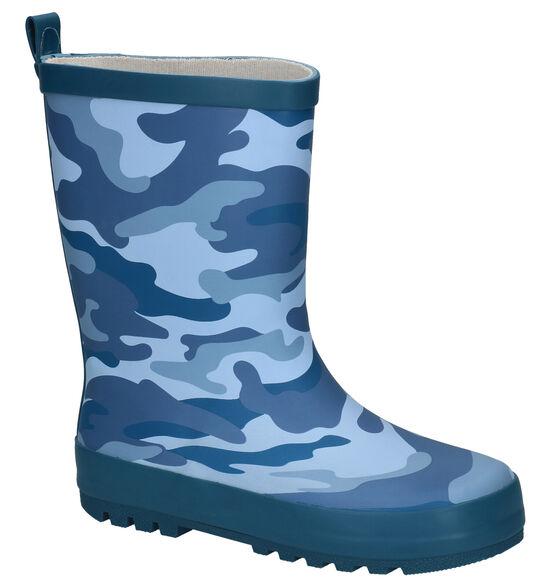 Dazzle Camo Bottes de pluie en Bleu