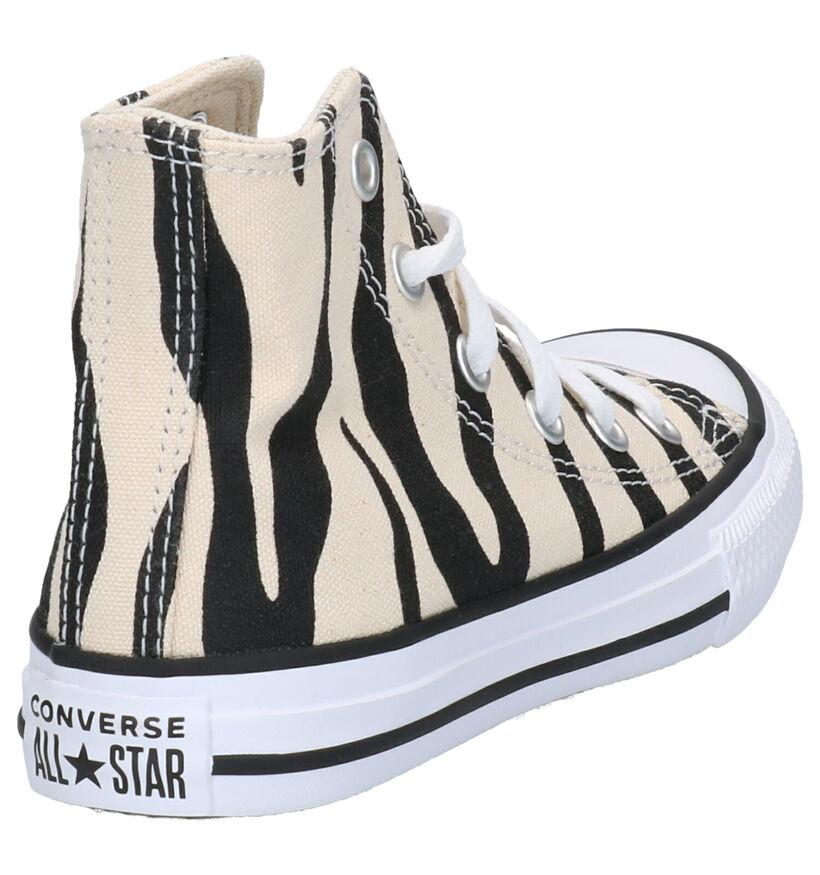 Converse Chuck Taylor AS Hi Beige Sneakers in stof (263506)
