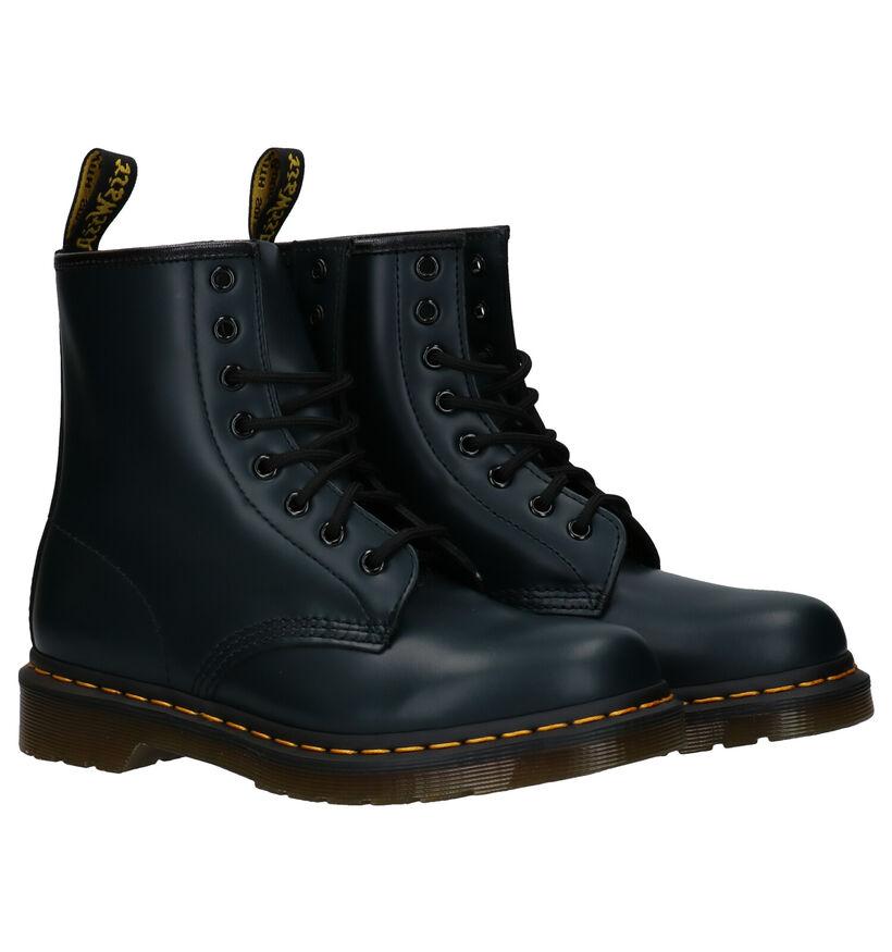 Zwarte Dr. Martens 1460 Boots in leer (253127)