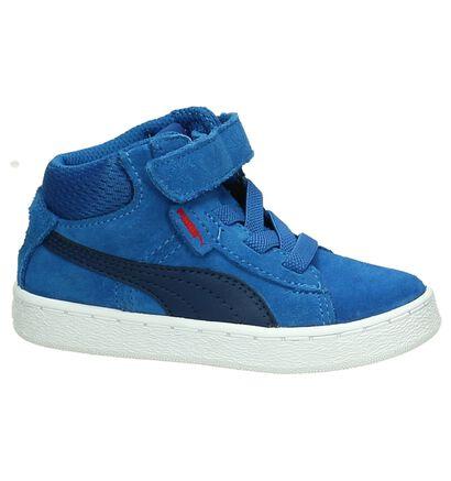 Puma Baskets pour bébé  (Bleu fluo), Bleu, pdp
