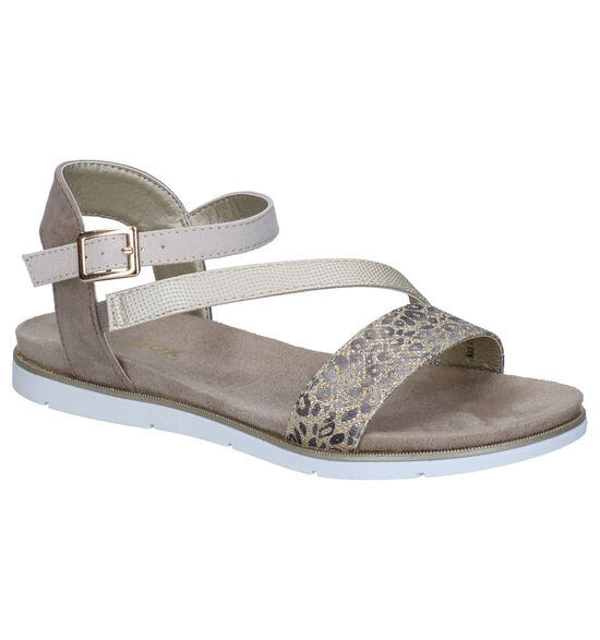Sprox Taupe Sandalen