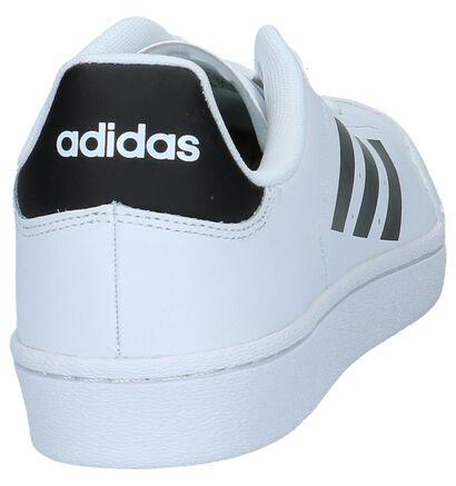 Witte Sneakers adidas Court in leer (221621)