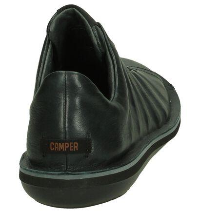 Camper Chaussures slip-on en Noir en cuir (184578)