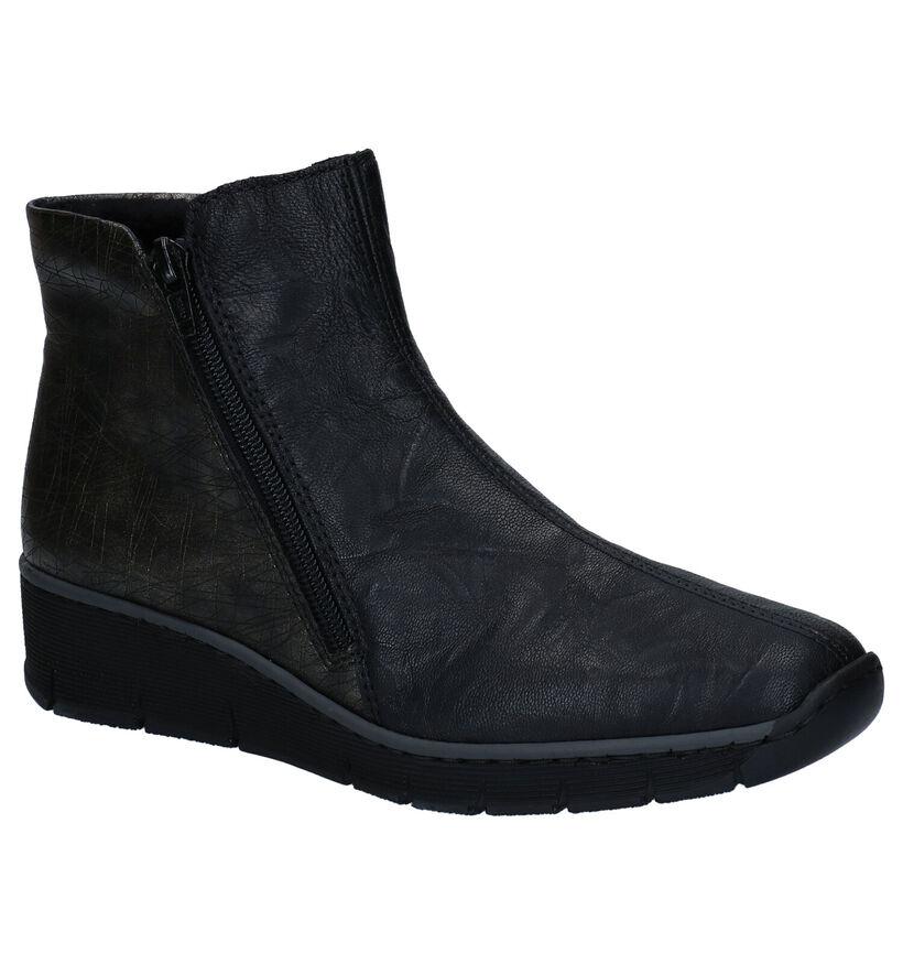 Rieker Bottillons à talons en Noir en simili cuir (260571)
