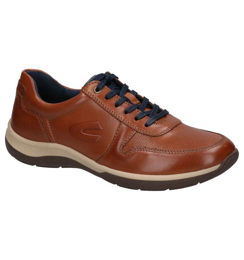 Camel Active Chaussures basses en Cognac en cuir (271300)