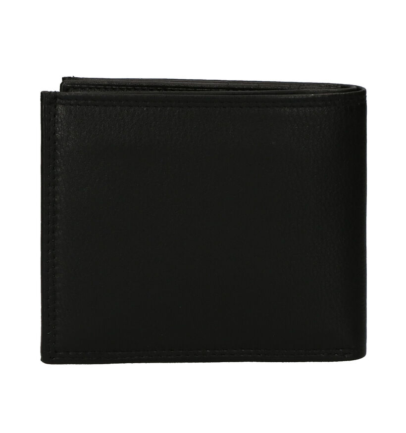 Euro-Leather Portefeuille en Noir en cuir (279374)
