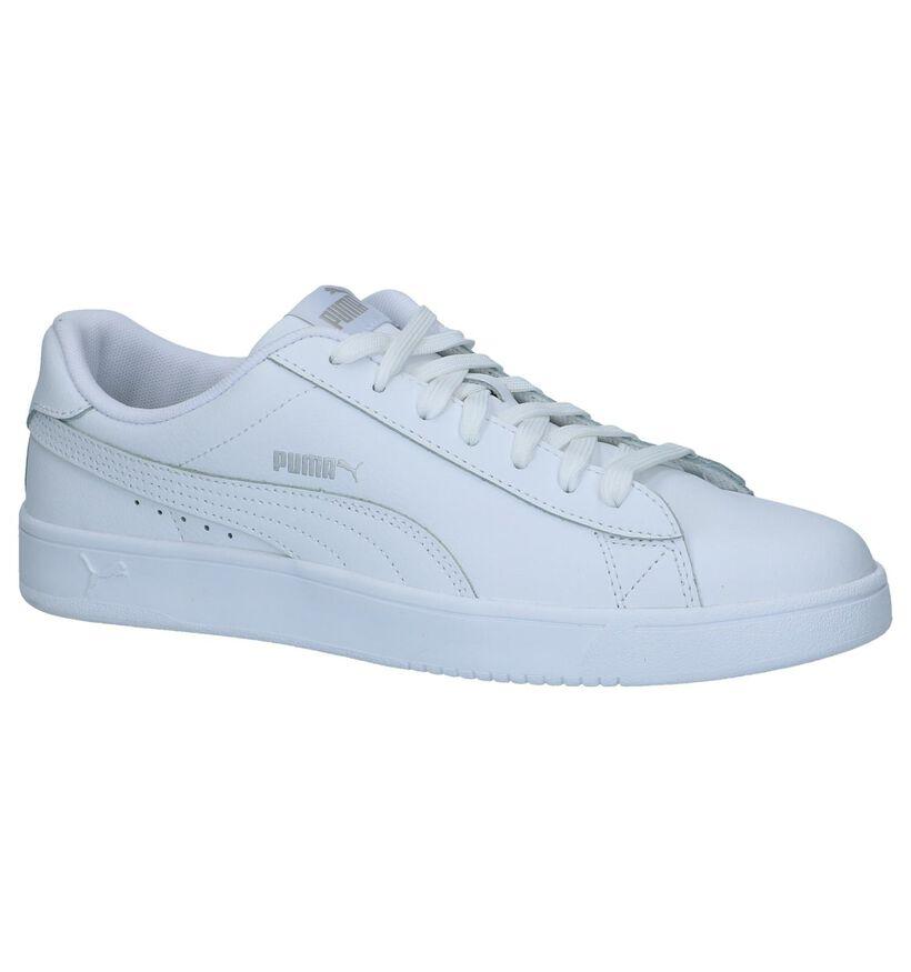 Puma Baskets basses en Blanc en cuir (239354)