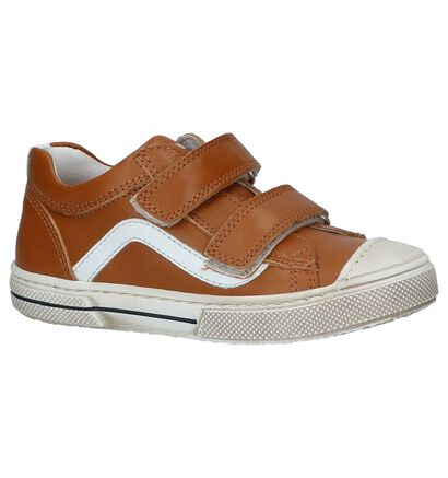 STONES and BONES Chaussures basses en Cognac en cuir (212060)