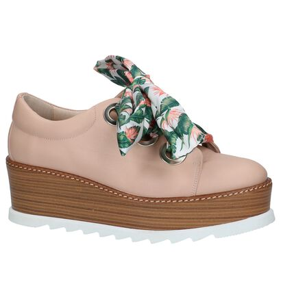 Élysèss Chaussures à lacets  (Blanc), Rose, pdp