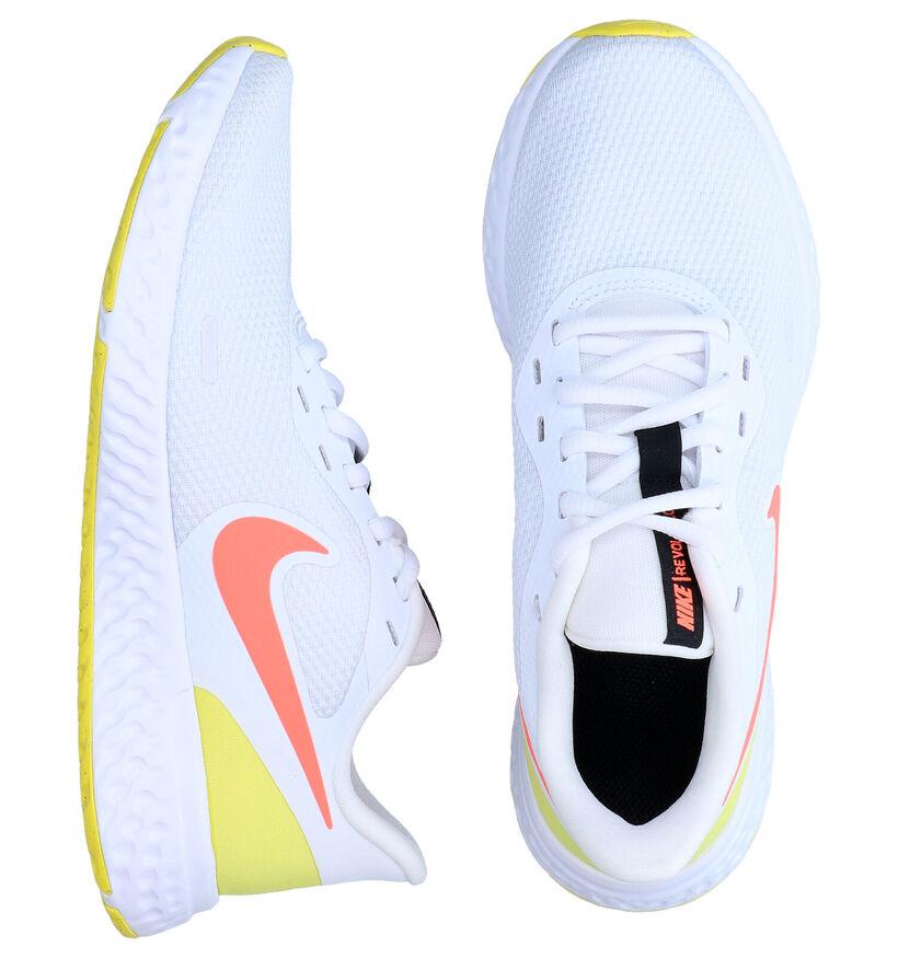 Nike Revolution 5 Zwarte Sneakers in stof (284555)