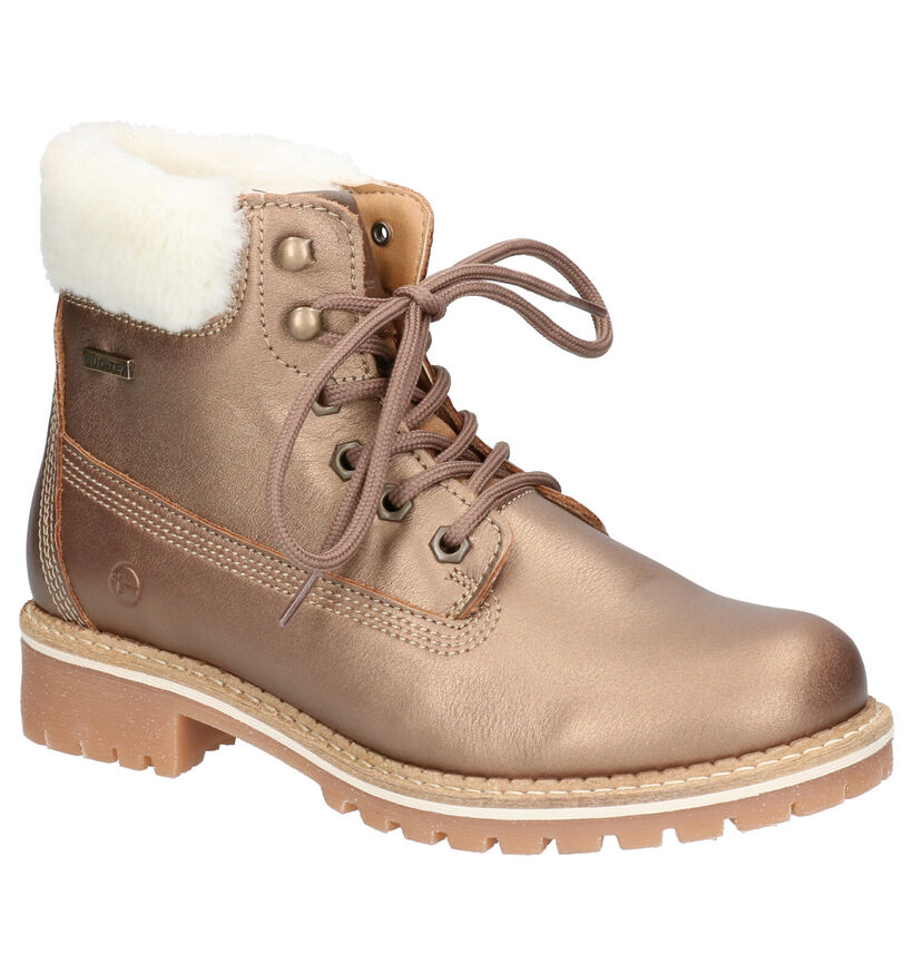 Tamaris Bronzen Boots in leer (257160)