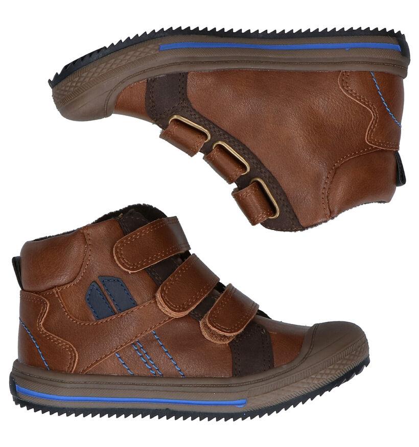Sprox Chaussures hautes en Cognac en simili cuir (291372)