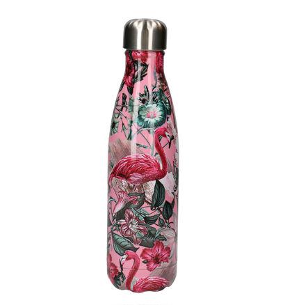 Chilly's Tropical Flamingo Gourde en Rose 500 ml (254682)