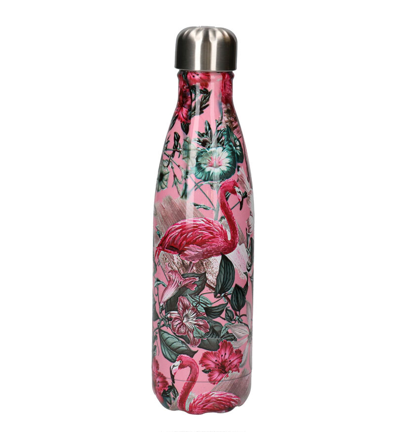 Chilly's Tropical Flamingo Gourde en Rose 500 ml (254682)