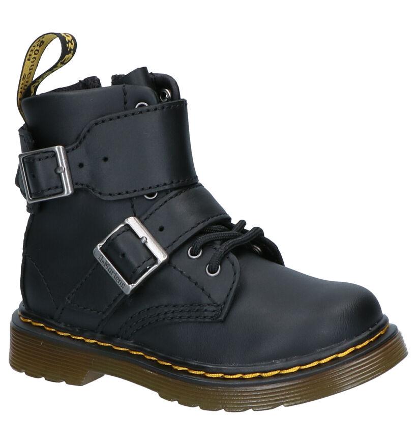 Dr. Martens Zwarte Boots in leer (253351)