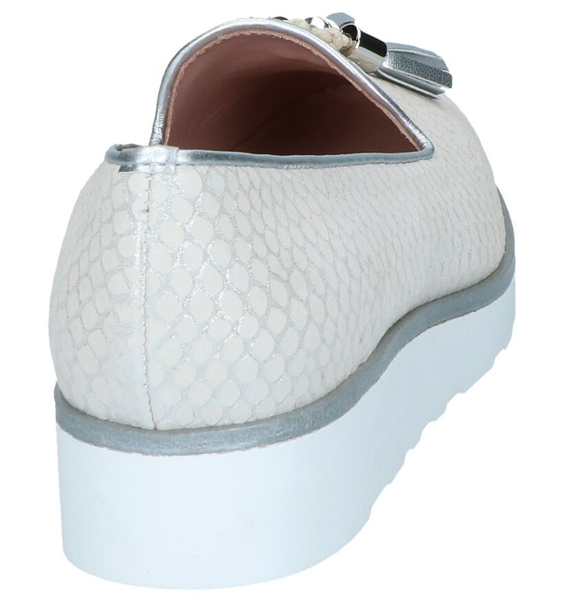 Witte Loafers Via Limone by Torfs in leer (250812)