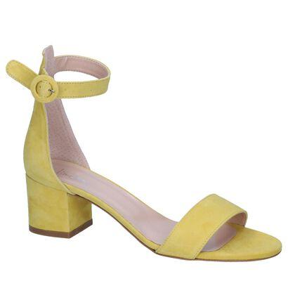 Gele Sandalen Via Limone, Geel, pdp
