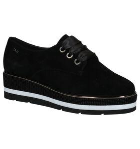Nathan-Baume Chaussures à lacets en Noir en nubuck (283253)