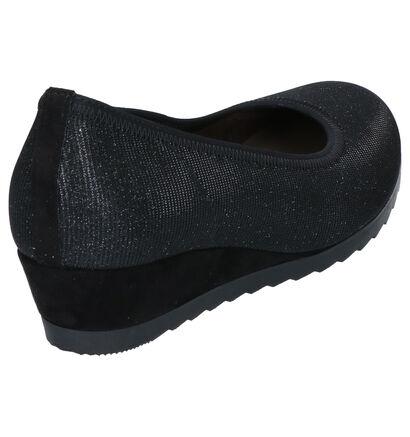 Gabor Easy Walking Escarpins en Noir en textile (260208)
