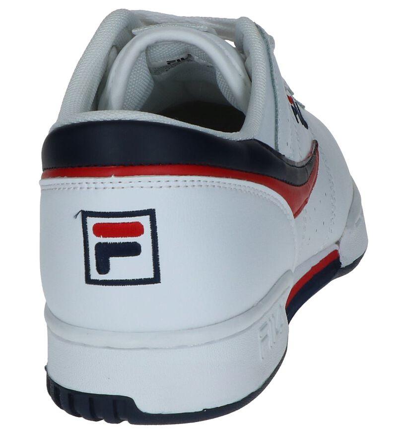 Fila Original Fitness Baskets basses en Blanc en simili cuir (240880)