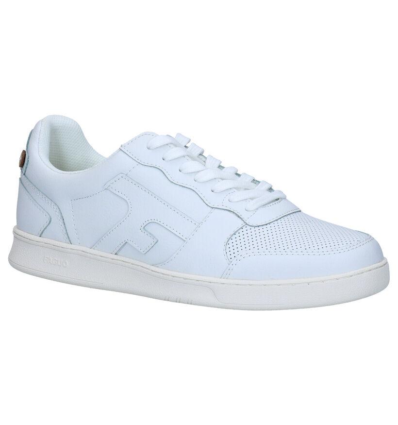 Faguo Hazel Baskets en Blanc en cuir (281080)