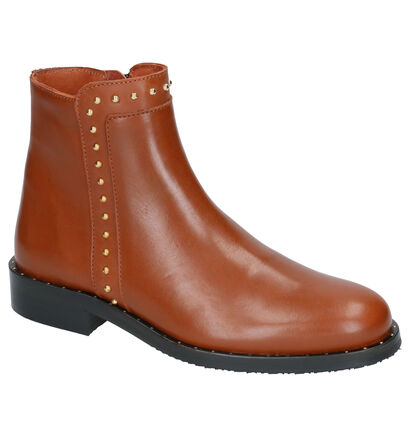 Hampton Bays Chaussures hautes en Cognac en cuir (260992)