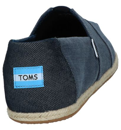 Espadrilles Blauw Toms, Blauw, pdp