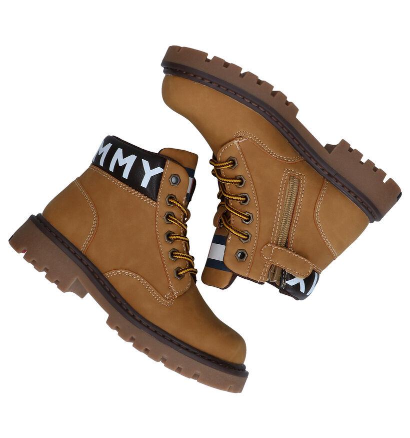 Tommy Hilfiger Naturel Boots in kunstleer (280086)