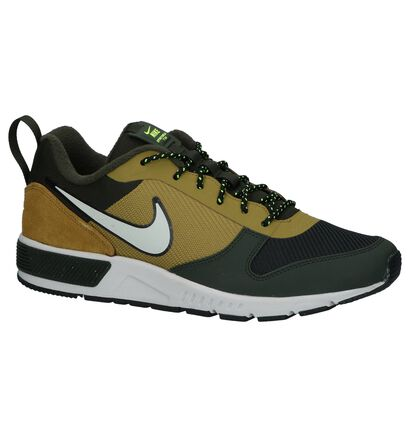 Donkergrijze Lage Sneakers Nike Nightgazer Trail in stof (233341)