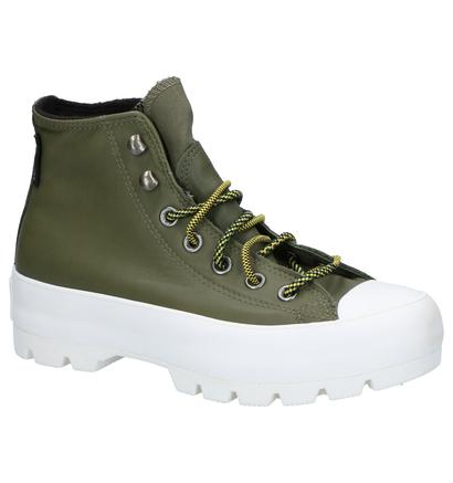 Converse Chuck Taylor AS Lugged Winter Zwarte Sneakers in leer (262409)