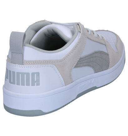 Puma Baskets basses en Blanc en imitation cuir (252597)