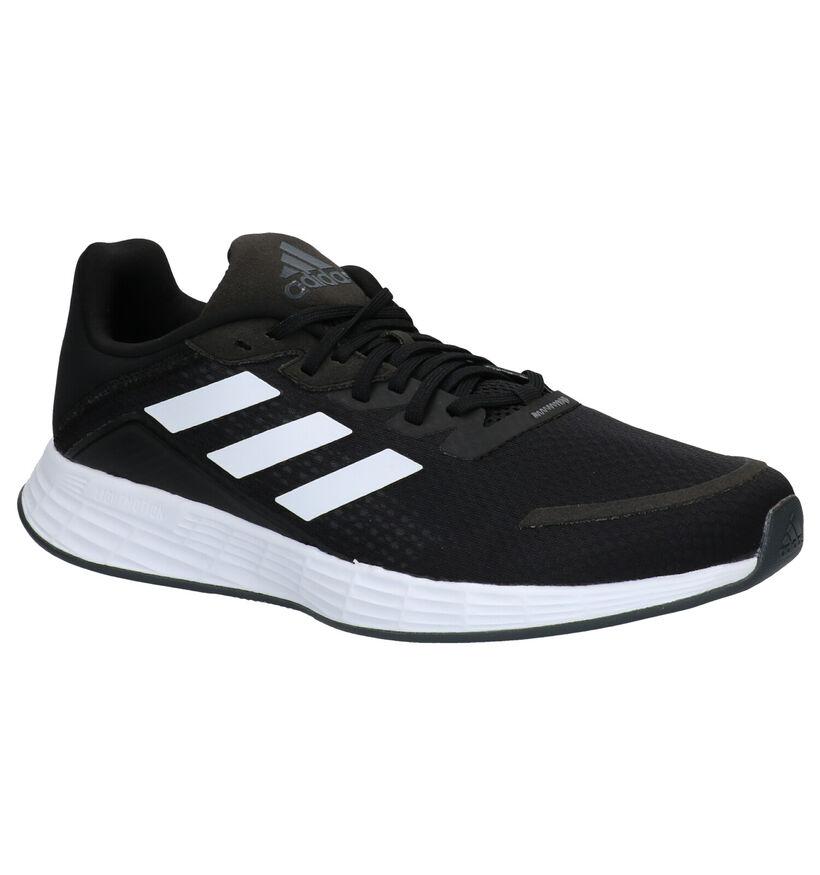 adidas Duramo Zwarte Sneakers in stof (273806)