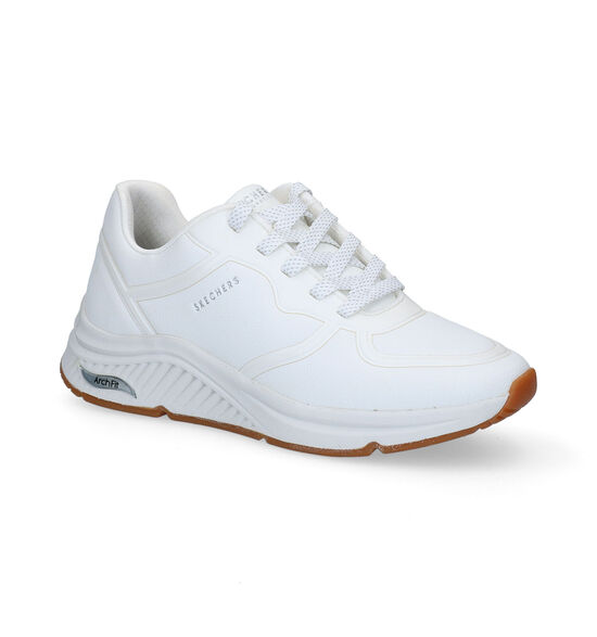 Skechers Arch Fit Witte Sneakers