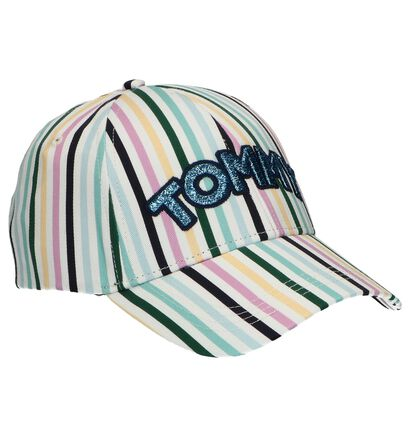 Donkerblauwe Pet Tommy Hilfiger Patch Cap , Multi, pdp