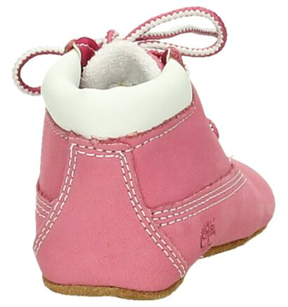 Timberland Crib Bootie Roze Babyschoentjes en Muts, Roze, pdp