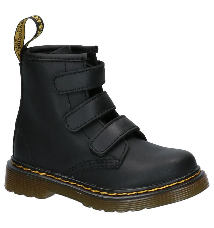 Dr. Martens 1460 Chaussures pour bébé  en Noir en cuir (253349)