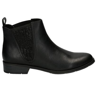 Marco Tozzi Zwarte Chelsea Boots in kunstleer (257245)