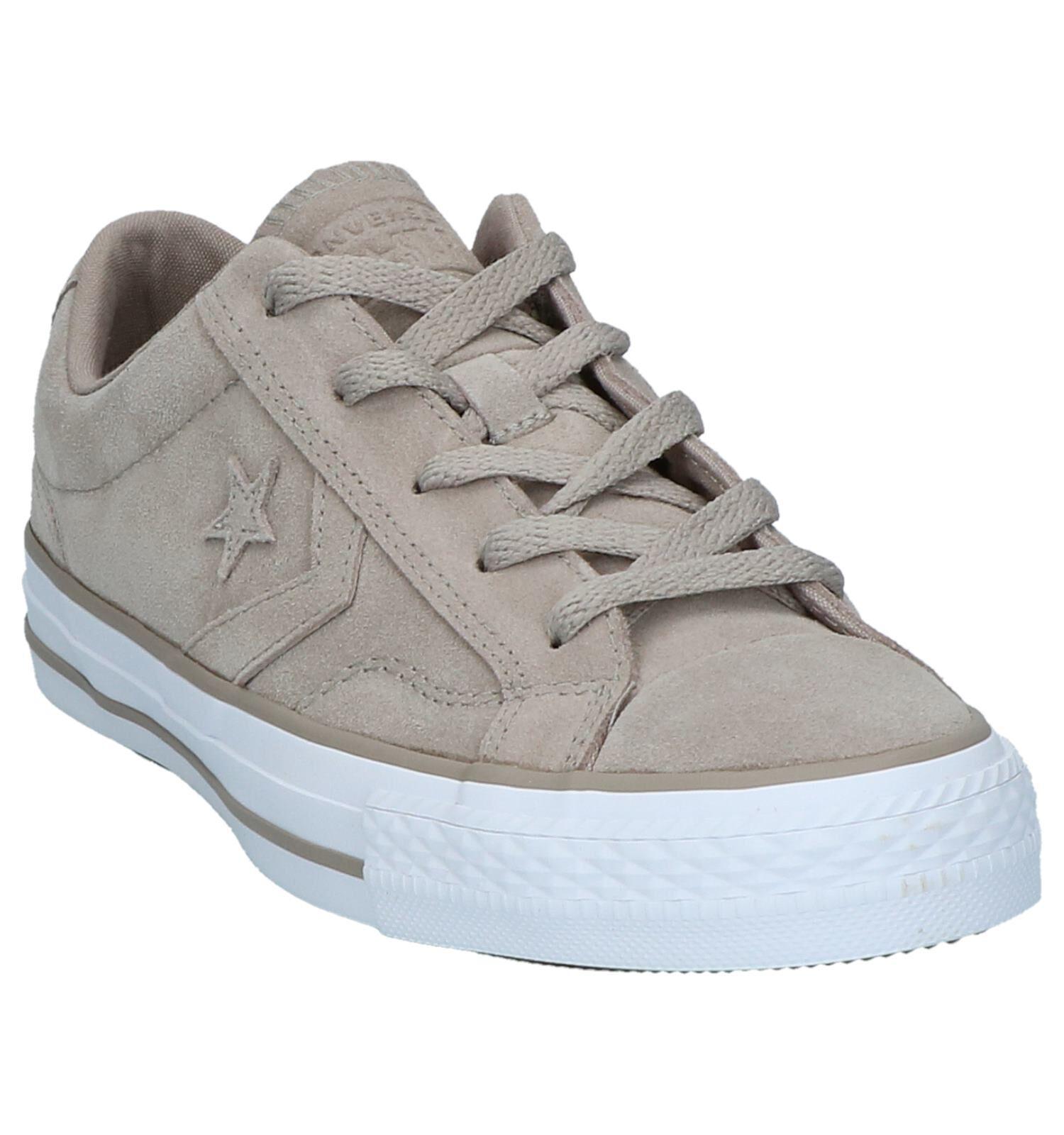 Donkerbeige Lage Sportieve Sneakers Converse Star Player Ox