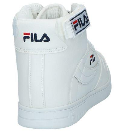 Fila FX100 Mid Baskets hautes en Blanc en simili cuir (223581)