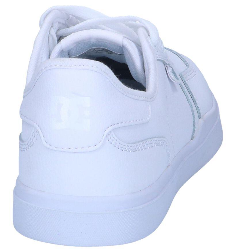 DC Shoes Skate sneakers en Blanc en cuir (241063)