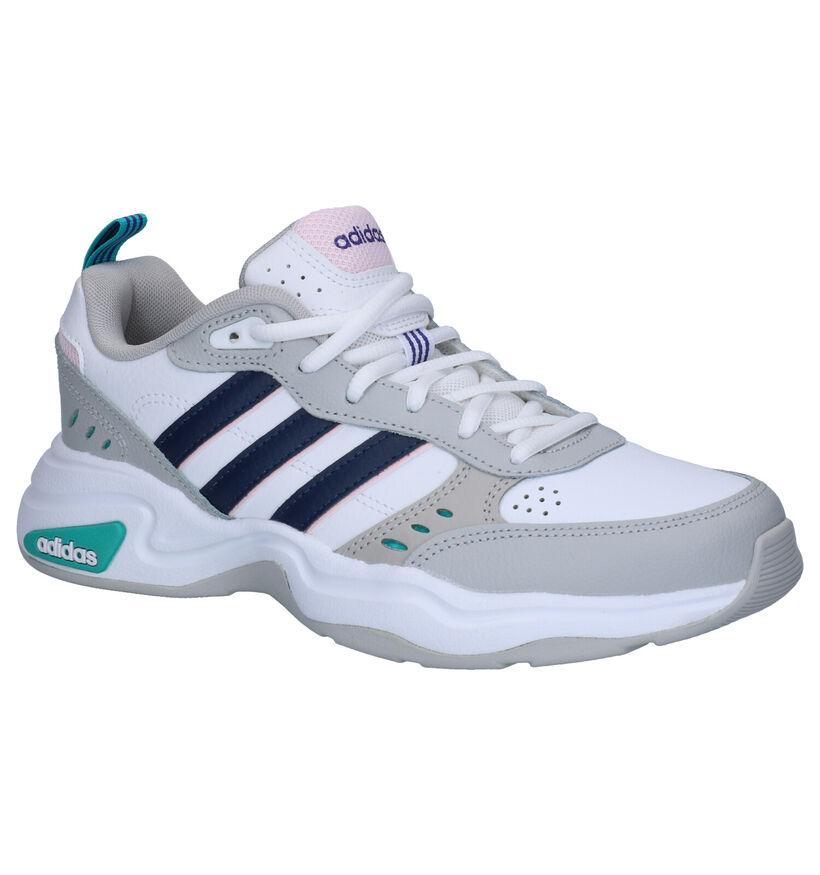 adidas Strutter Sneakers Zwart in kunstleer (261841)