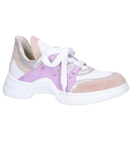 Tine's Chaussures à lacets en Rose