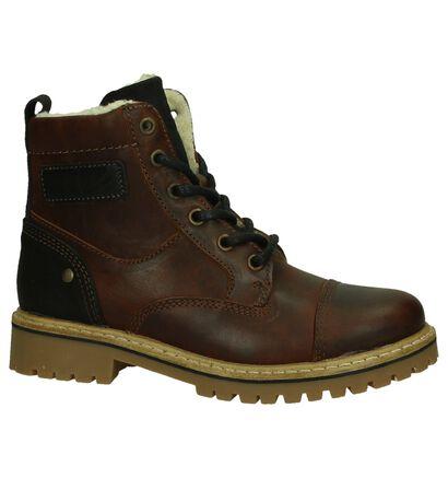 Ghost Rockers Stoere Boots Bruin in leer (202381)