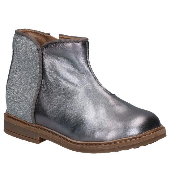 Pom d'Api Retro Back Zilveren Boots