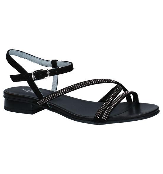 NeroGiardini Zwarte Sandalen