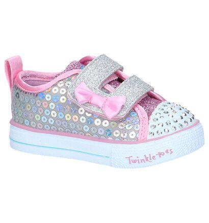 Zilveren Sneakers Skechers Twinkle Toes, Zilver, pdp