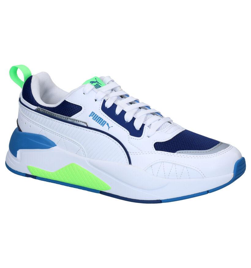 Puma X-Ray Square Witte Sneakers in kunstleer (288549)