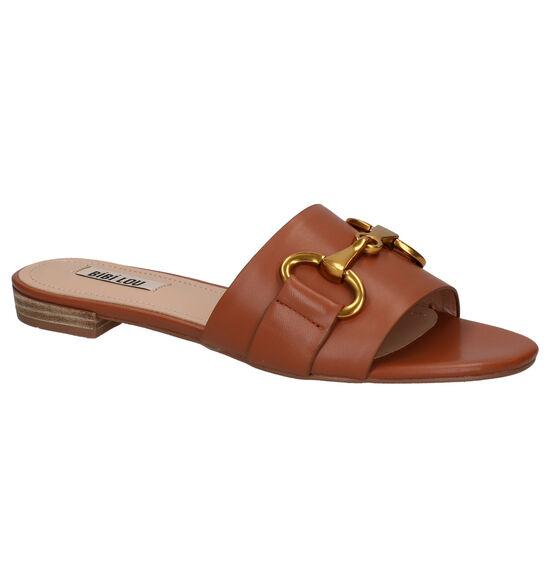 Bibi Lou Cognac Slippers
