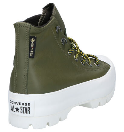 Converse Chuck Taylor AS Lugged Winter Zwarte Sneakers in leer (262409)