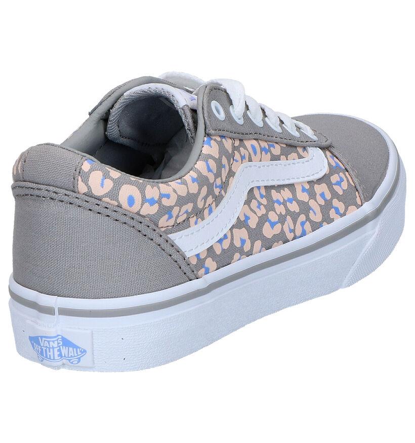 Vans Ward Grijze Skate Sneakers in stof (266612)
